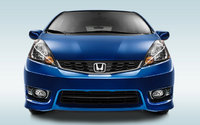 2013 Honda Fit, exterior front view full, exterior, manufacturer