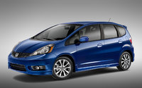 2013 Honda Fit, exterior left front quarter view, exterior, manufacturer