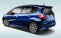 2013 Honda Fit, exterior left rear quarter view, exterior, manufacturer