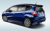 2013 Honda Fit, exterior left rear quarter view, exterior, manufacturer