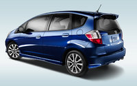 2013 Honda Fit, exterior left rear quarter view, manufacturer, exterior