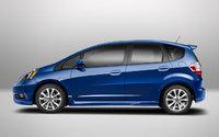 2013 Honda Fit, exterior side view full, exterior, manufacturer