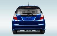 2013 Honda Fit, exterior rear view full, exterior, manufacturer