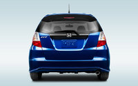 2013 Honda Fit, exterior rear view full, manufacturer, exterior