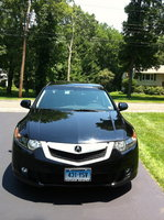 2009 Acura TSX Base w/ Tech Pkg picture, exterior