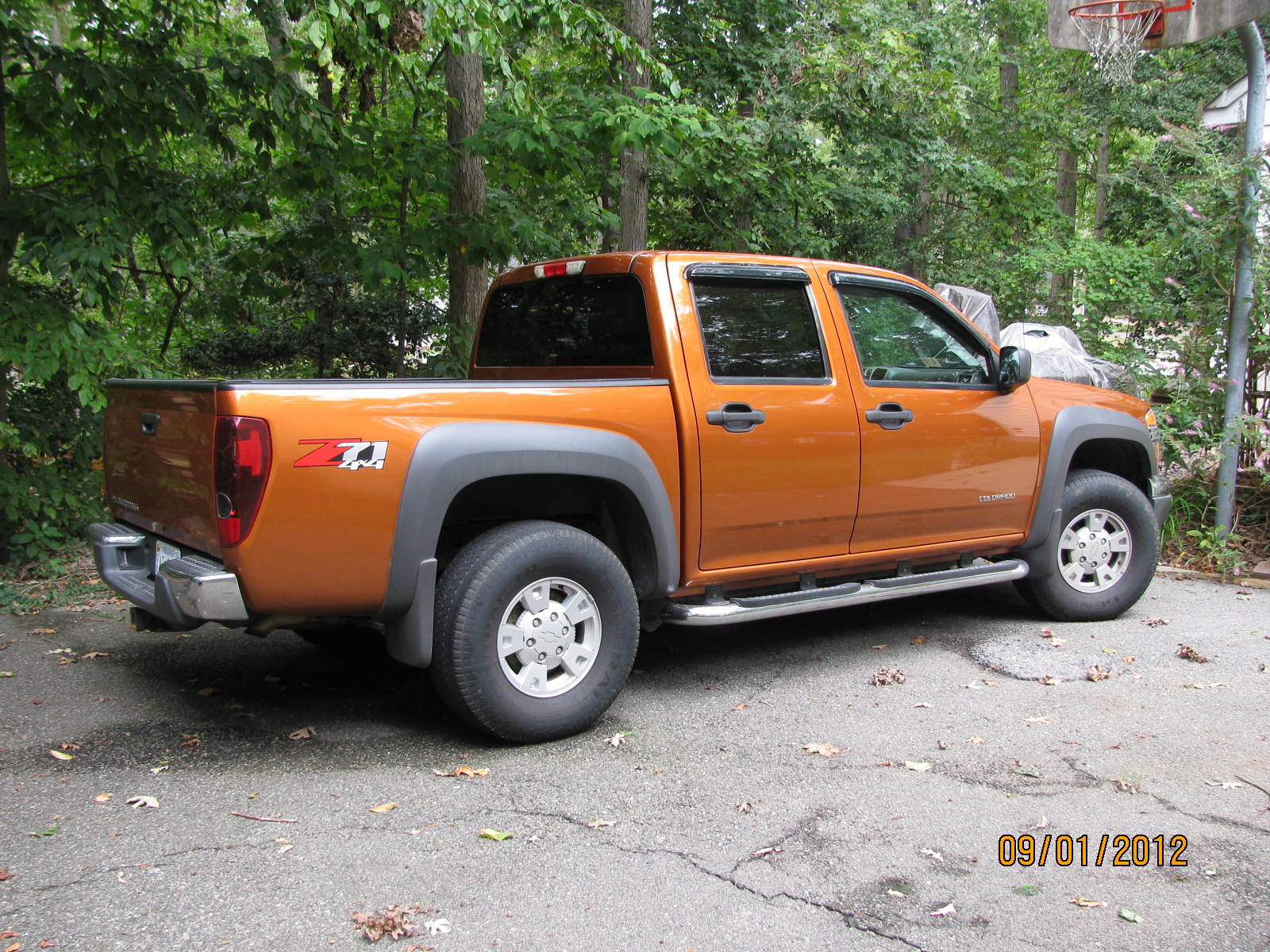 picture of 2005 chevrolet colorado 4 dr z71 ls base 4wd crew cab sb. Cars Review. Best American Auto & Cars Review