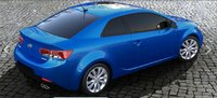 2013 Kia Forte Koup, exterior right rear quarter view, exterior, manufacturer