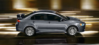 2013 Mitsubishi Lancer, exterior right side full view, manufacturer, exterior