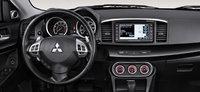 2013 Mitsubishi Lancer, interior front driver view, interior, manufacturer