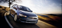 2013 Mitsubishi Lancer, exterior right front quarter view, exterior, manufacturer