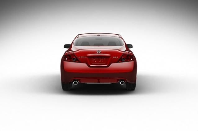 2013 Nissan Altima Coupe, exterior rear full view, exterior, manufacturer, gallery_worthy