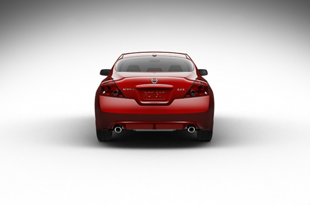 2013 Nissan Altima Coupe, exterior rear full view, manufacturer, exterior