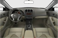 2013 Nissan Altima Coupe, interior front view full, interior, manufacturer