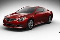 2013 Nissan Altima Coupe, exterior left front quarter view, exterior, manufacturer