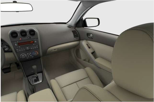 2013 Nissan Altima Coupe, interior front passenger side, interior, manufacturer