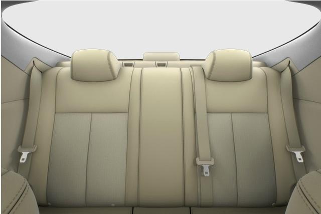 2013 Nissan Altima Coupe, interior rear full view, interior, manufacturer