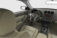 2013 Nissan Altima Coupe, interior front drivers side, manufacturer, interior
