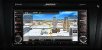 2013 Nissan Altima Coupe, interior front navigation panel, manufacturer, interior