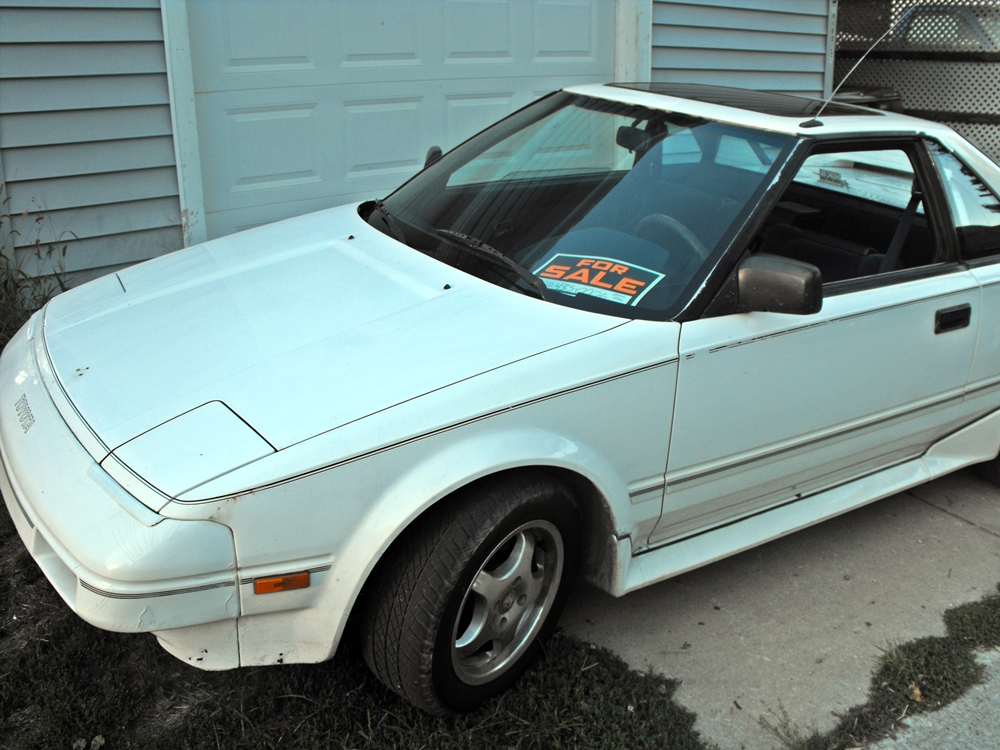 1988 Toyota MR2 - Pictures - 1988 Toyota MR2 STD Coupe pict ...