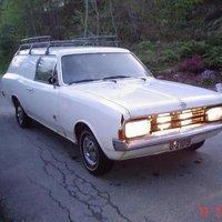 1967 Opel Rekord Overview