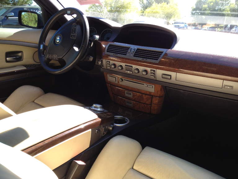2004 Bmw 7 Series Interior Pictures Cargurus