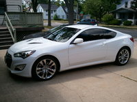 2013 Hyundai Genesis Coupe 3.8 R-Spec, Tinted windows and a short throw installed, exterior, gallery_worthy