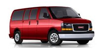 2013 GMC Savana, Front quarter view copyright Nada Guides, exterior