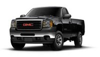 2013 GMC Sierra 3500HD, Front quarter view copyright Nada Guides, exterior