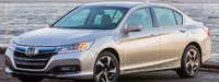 2013 Honda Accord Plug-In Hybrid, Front quarte view. , exterior, manufacturer
