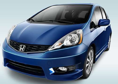 2013 Honda Fit, Front quarter view., exterior, manufacturer