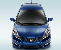 2013 Honda Fit, Back quarter view., exterior, manufacturer