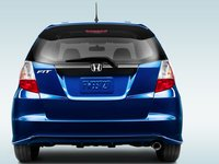2013 Honda Fit, Back view, exterior, manufacturer