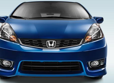 2013 Honda Fit, Front View., exterior, manufacturer
