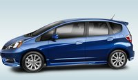 2013 Honda Fit, Side View., exterior, manufacturer