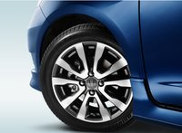 2013 Honda Fit, Front tire., exterior, manufacturer, gallery_worthy