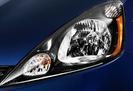 2013 Honda Fit, Headlight., exterior, manufacturer