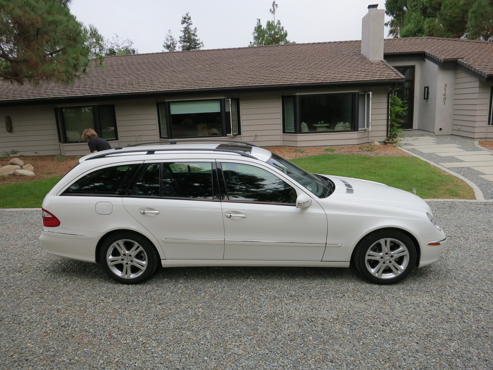 Picture of 2004 mercedes benz e class e500 4matic wagon for Mercedes benz e500 station wagon