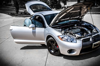 Picture of 2007 Mitsubishi Eclipse GS, exterior, engine