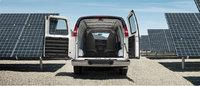 2013 GMC Savana Cargo, interior rear cargo view, interior, manufacturer
