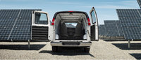 2013 GMC Savana Cargo, interior rear cargo view, manufacturer, interior