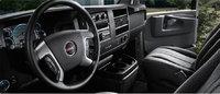 2013 GMC Savana Cargo, interior front view, interior, manufacturer