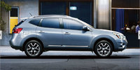 2013 Nissan Rogue, exterior side view full, manufacturer, exterior