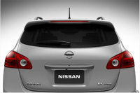 2013 Nissan Rogue, exterior rear view close up, exterior, manufacturer