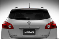 2013 Nissan Rogue, exterior rear view close up, manufacturer, exterior