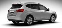 2013 Nissan Rogue, exterior rear right quarter view, exterior, manufacturer