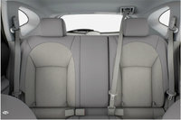 2013 Nissan Rogue, interior rear view full, interior, manufacturer