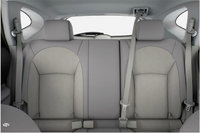 2013 Nissan Rogue, interior rear view full, manufacturer, interior