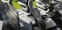 2013 Nissan Rogue, interior front and rear top view, interior, manufacturer