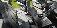 2013 Nissan Rogue, interior front and rear top view, manufacturer, interior