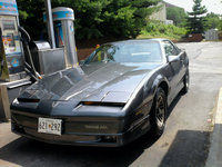 1985 Pontiac Trans Am, Color and condition after doing body work and paint. Used GM Gun Metal Gray Metallic , exterior
